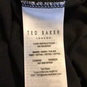 85cdf48ccc47 Ted Baker London Tops - SALE! Ted Baker London. Black Baby Tee w